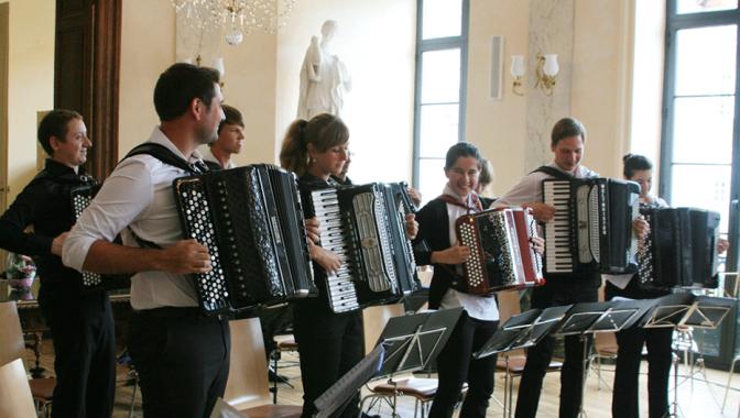 Akordeonistu tikšanās Francijā