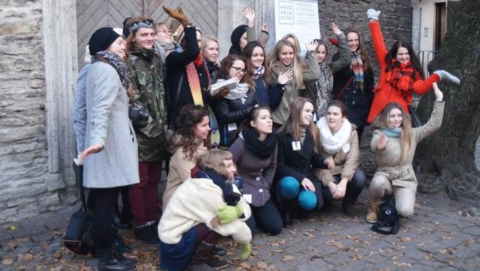 Starptautiskā jauniešu laikmetīgās mākslas izstāde EKSPERIMENTA! Tallinā