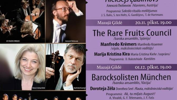 15. starptautiskais Baha kamermūzikas festivāls