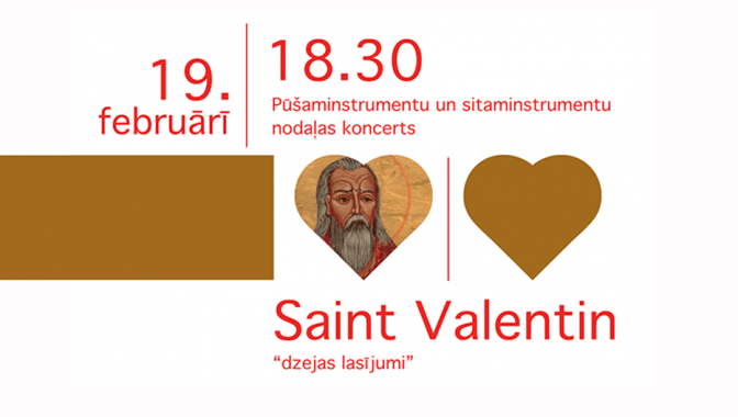 Koncerts SAINT VALENTIN