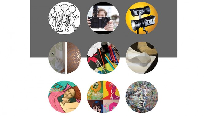 Radošās darbnīcas jauniešiem dizainā un mākslā