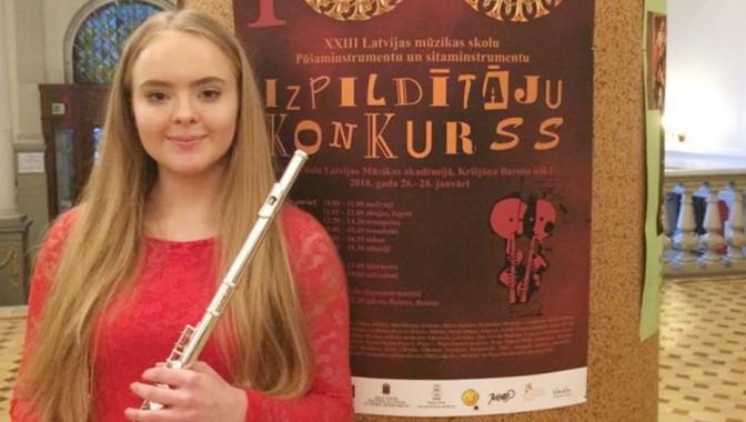 XXIII Latvijas mūzikas skolu pūšaminstrumentu un sitaminstrumentu izpildītāju konkurss