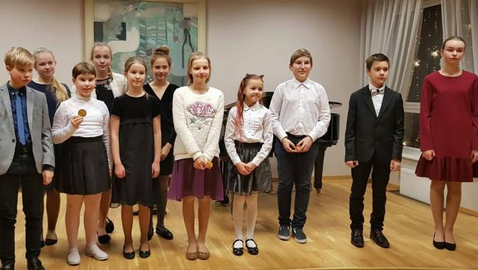 Sadraudzības koncerts Babītes mūzikas skolā