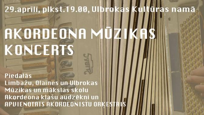 Akordeona mūzikas koncerts