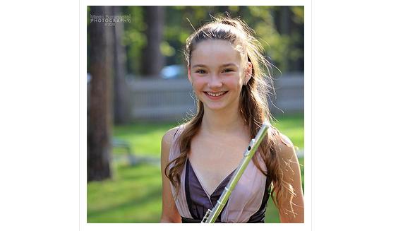Flautas klases audzēknes Anetes Duntavas sasniegumi starptautiskajos konkursos