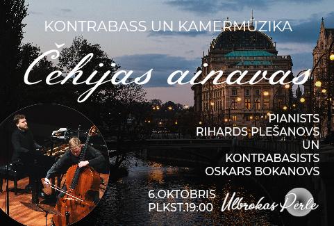 "Koncerts ""Čehijas ainavas"""